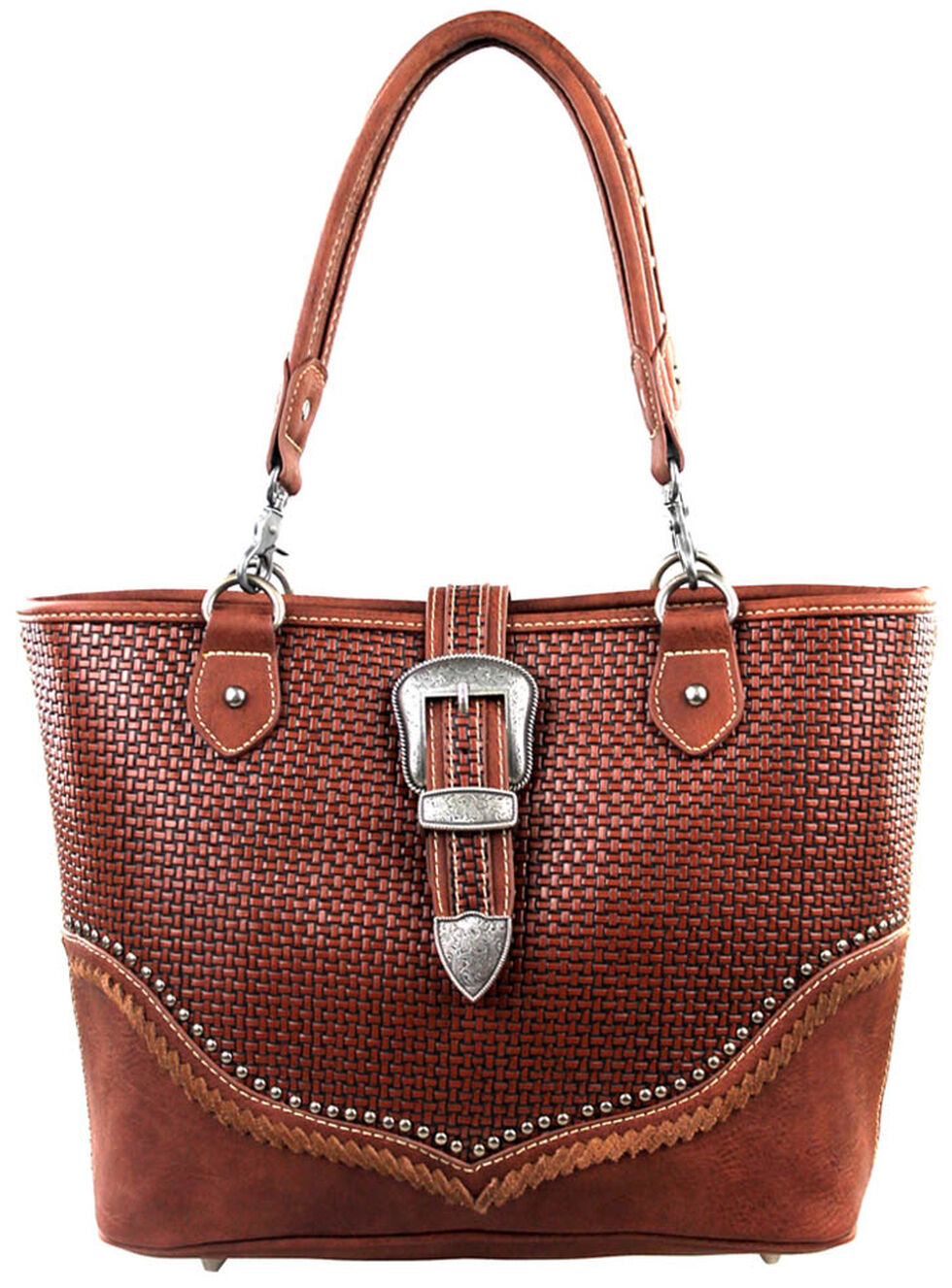Montana West Trinity Ranch Buckle Design Concealed Handgun Collection Handbag, , hi-res