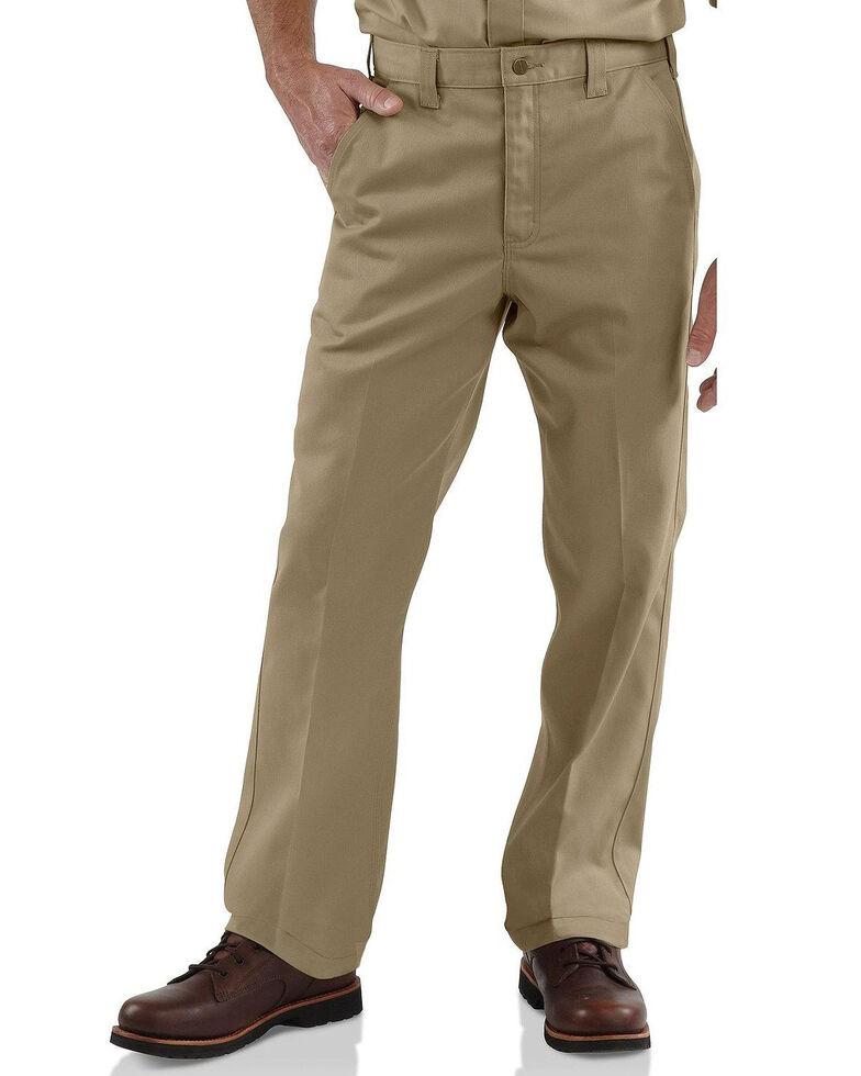 Carhartt Blended Twill Chino Work Pants - Big & Tall, Beige/khaki, hi-res
