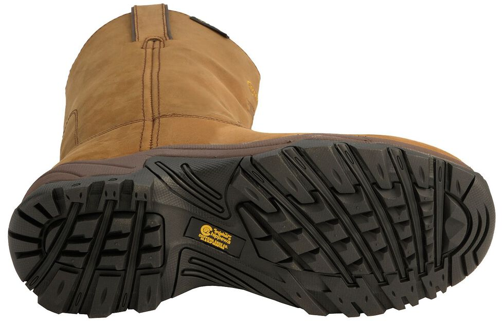 Chippewa Waterproof Apache Pull-On Work Boots - Composite Toe, Bay Apache, hi-res
