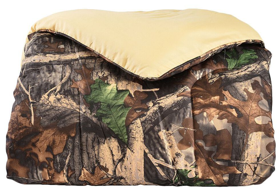 HiEnd Accents Realtree Camo Twin Size Comforter Set, Multi, hi-res