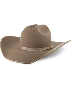 Rodeo King Ash 5X Felt Cowboy Hat, Medium Brown, hi-res