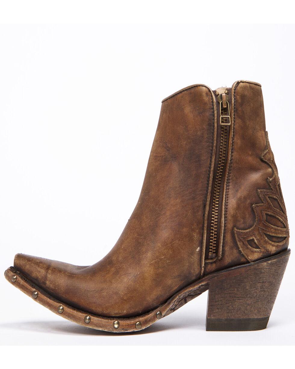 Ariat Women's Fenix Studded Sidewall Western Boots - Snip Toe, Brown, hi-res