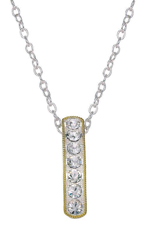 Montana Silversmiths Bling Bar Necklace, Silver, hi-res