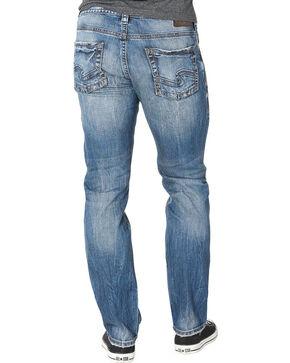 Silver Men's Indigo Allan Classic Fit Jeans - Straight Leg , Indigo, hi-res
