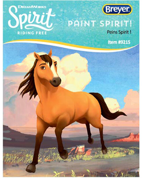 Breyer Paint Spirit and His Stable Kit, No Color, hi-res