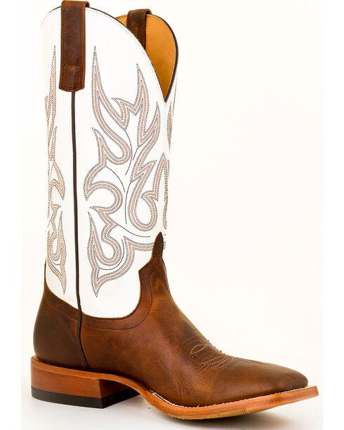 Horse Power Men's Brown Sabotage Western Boots - Square Toe , Brown, hi-res