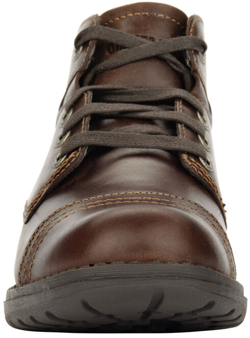 Eastland Women's Brown Overdrive Ankle Boots, Brown, hi-res