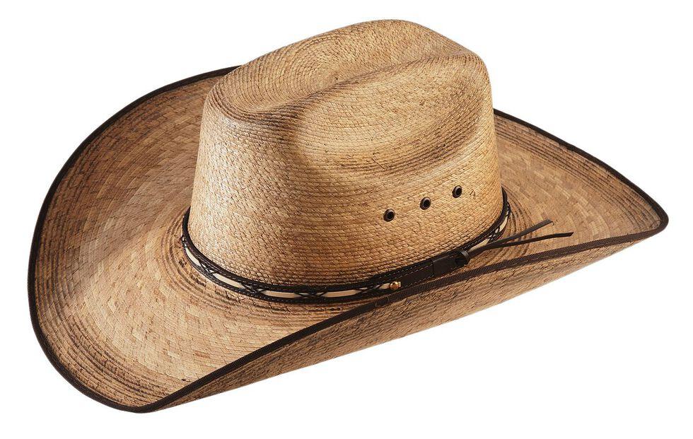 Jason Aldean Amarillo Sky Palm Leaf Cowboy Hat  af82d35af56