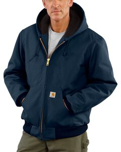 Carhartt Quilted Flannel-Lined Duck Active Jacket, , hi-res