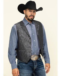 Cody James Men's Grey Camo Swampin Vest , Grey, hi-res