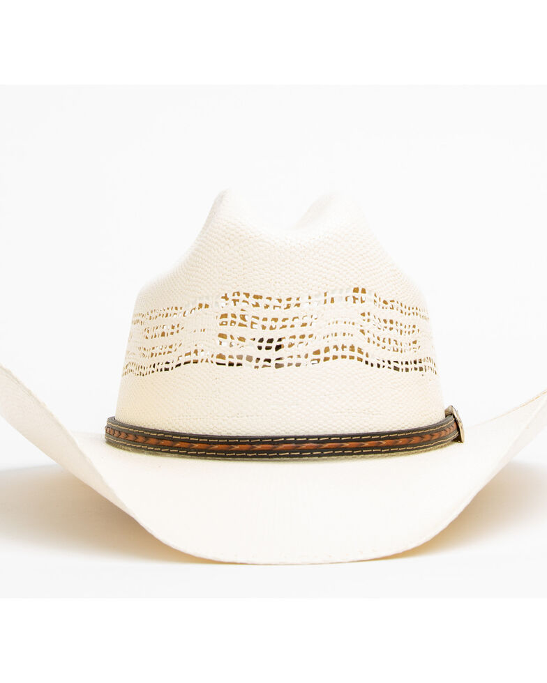 3e70408f2 Cody James Men's 20X Low Cattleman Pro Rodeo Bangora Straw Hat