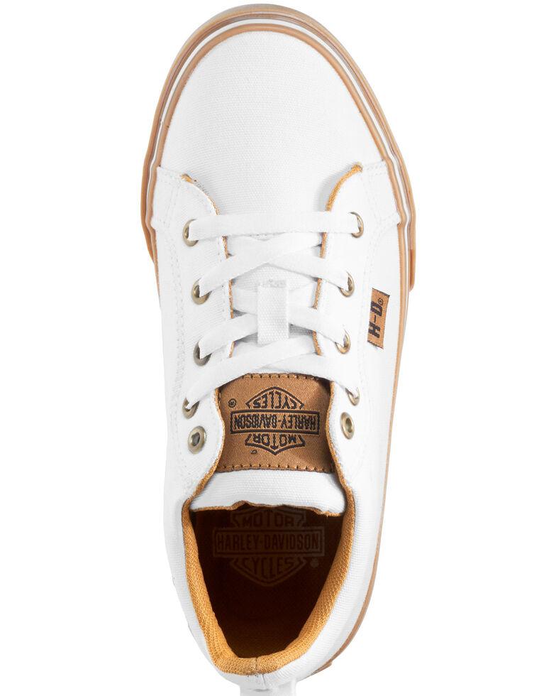 Harley Davidson Women's Torland Shoes, White, hi-res