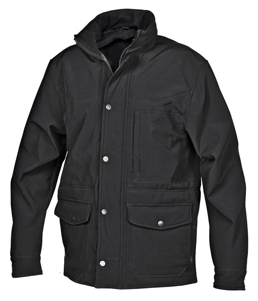 STS Ranchwear Men's Brazos Black Barn Jacket, Black, hi-res