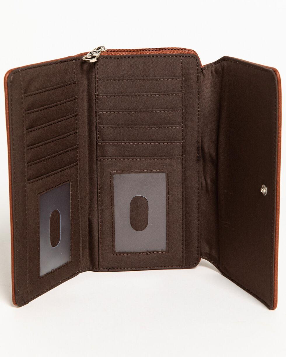 Shyanne Women's Rhinestone Swirl Wallet, , hi-res