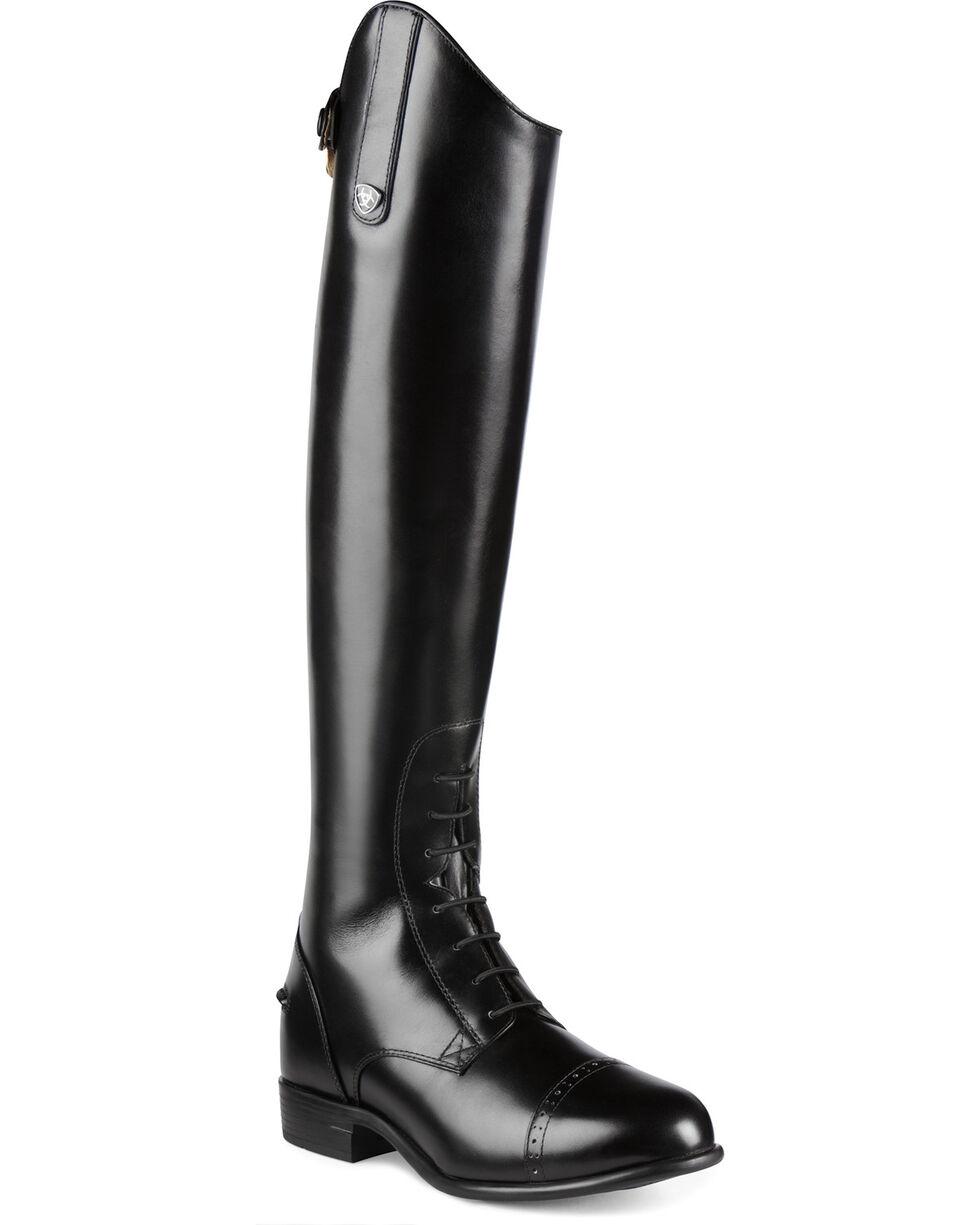 Ariat Women's Quantum Crowne Pro Field Zip Riding Boots, Black, hi-res