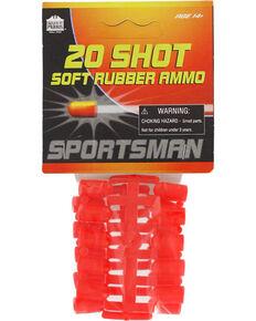 Parris 20 Shot Sportsman Rubber Ammo, No Color, hi-res