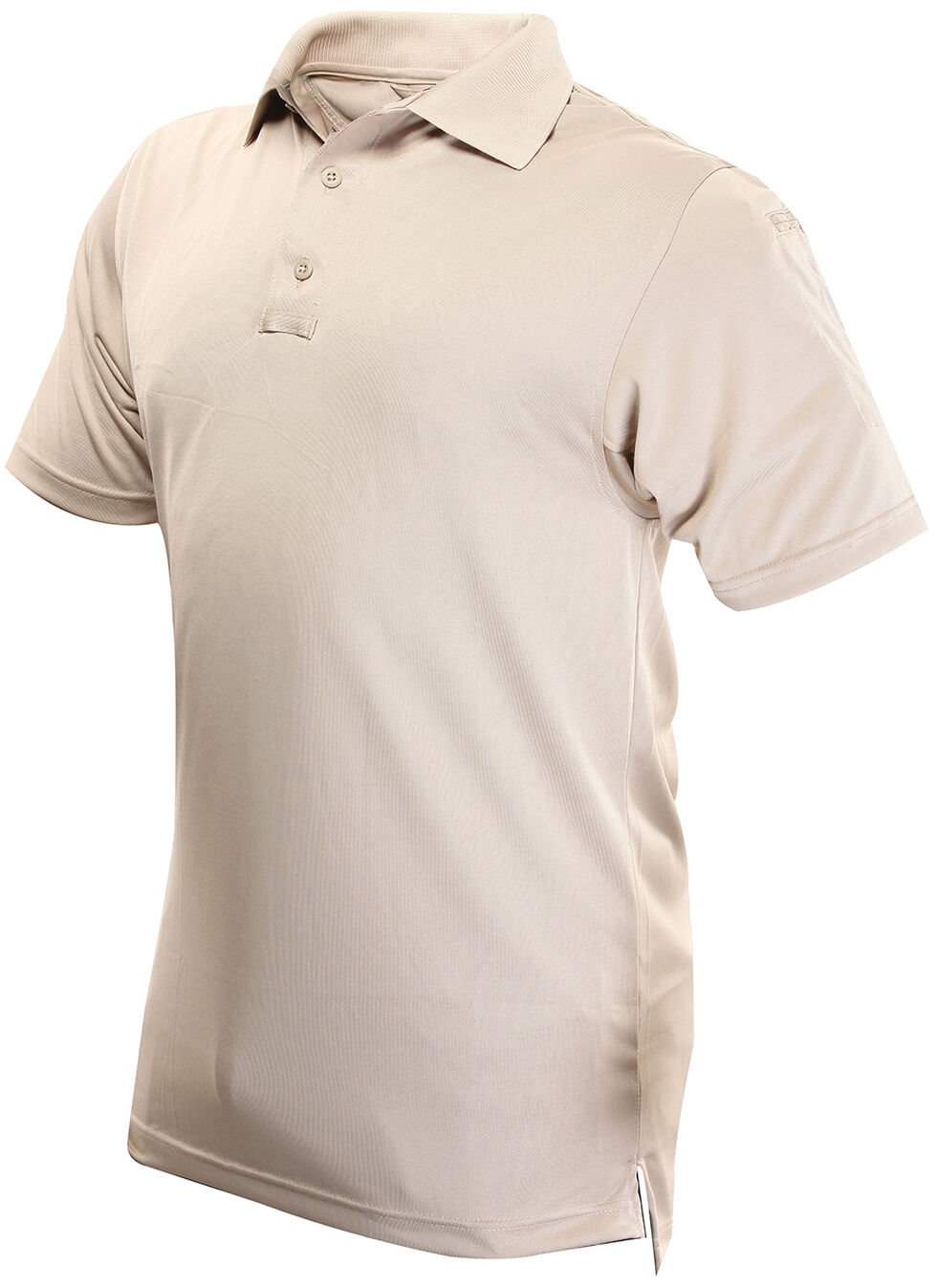 Tru-Spec Men's 24-7 Series Short Sleeve Performance Polo Shirt - Extra Large (2XL - 5XL), Tan, hi-res