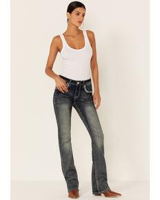 Grace in LA Women's Bootcut Jeans, Blue, hi-res