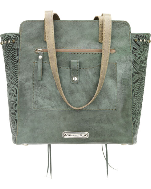 American West Navajo Soul Zip Top Tote, , hi-res