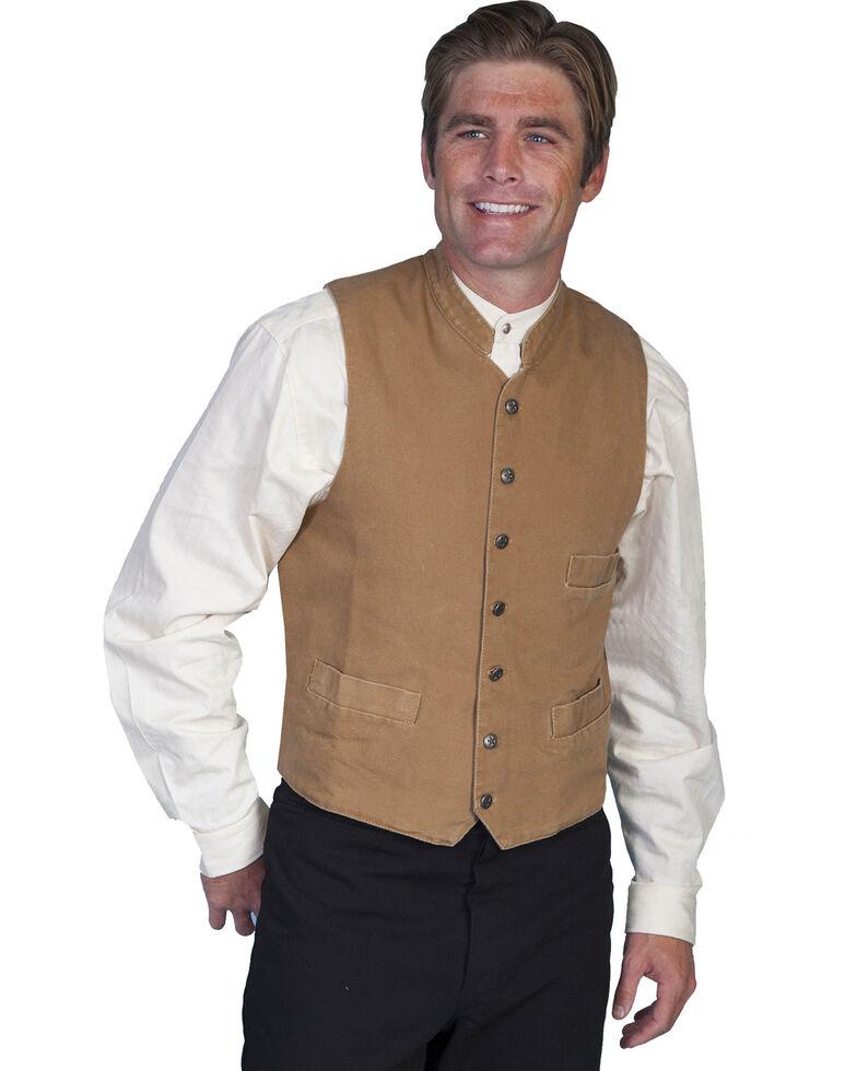 Rangewear by Scully Standup Round Collar Vest, Brown, hi-res