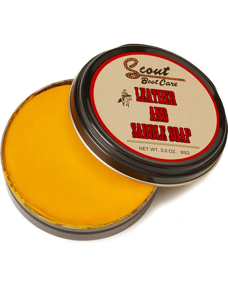 Scout Leather and Saddle Soap, Natural, hi-res