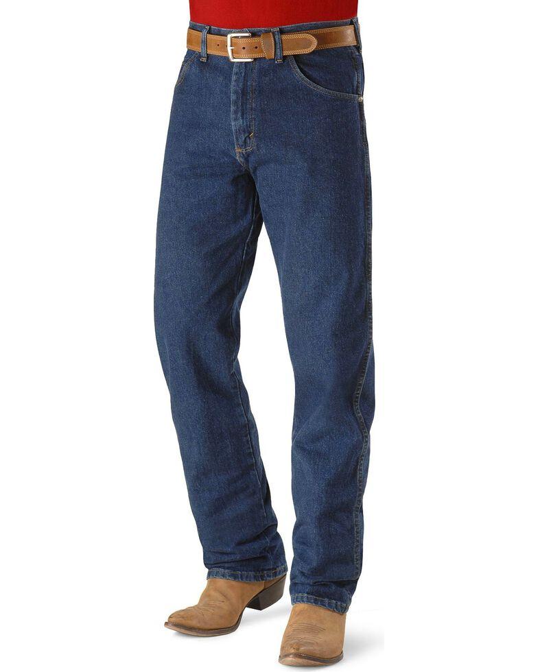 "Wrangler 20X No. 22 Original Jeans - 38"" & 40"" Inseams, Dark Denim, hi-res"
