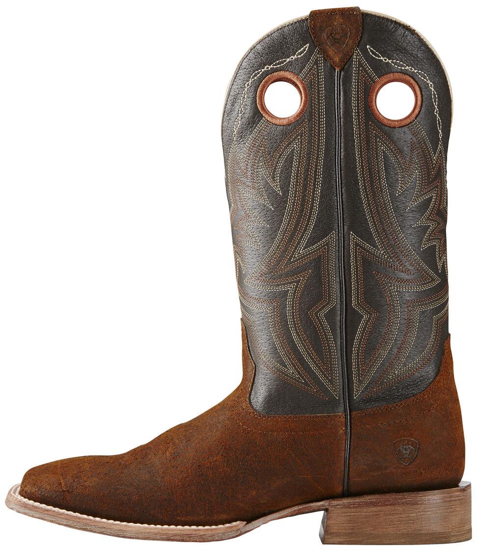 Ariat Men's Circuit Hazer Boots - Wide Square Toe, Brown, hi-res