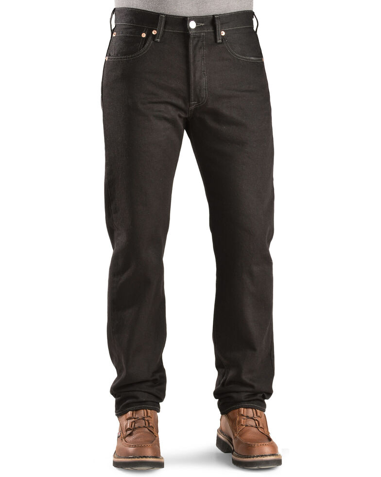 Levi's Men's 501 Original Prewashed Regular Straight Leg Jeans , Blk Magic, hi-res