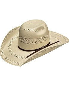 Twister Men's Ivory 20X Shantung Punchy Hat , Ivory, hi-res