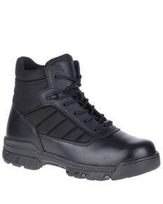 Bates Men's UltraLite Work Boots - Soft Toe, Black, hi-res