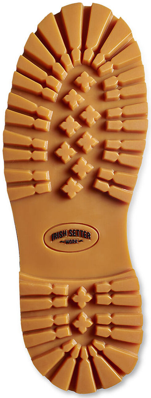 Red Wing Irish Setter Hopkins Insulated Waterproof Work Boots - Aluminum Toe , Wheat, hi-res