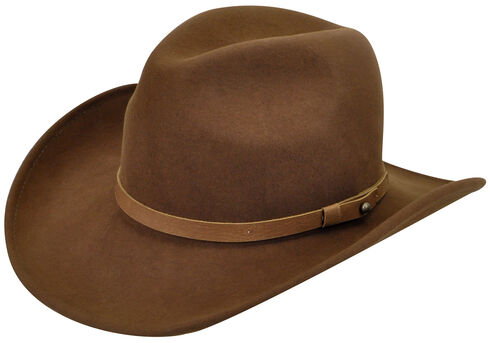 Wind River by Bailey Men's Tobacco Brown Goldfield Hat , Brown, hi-res