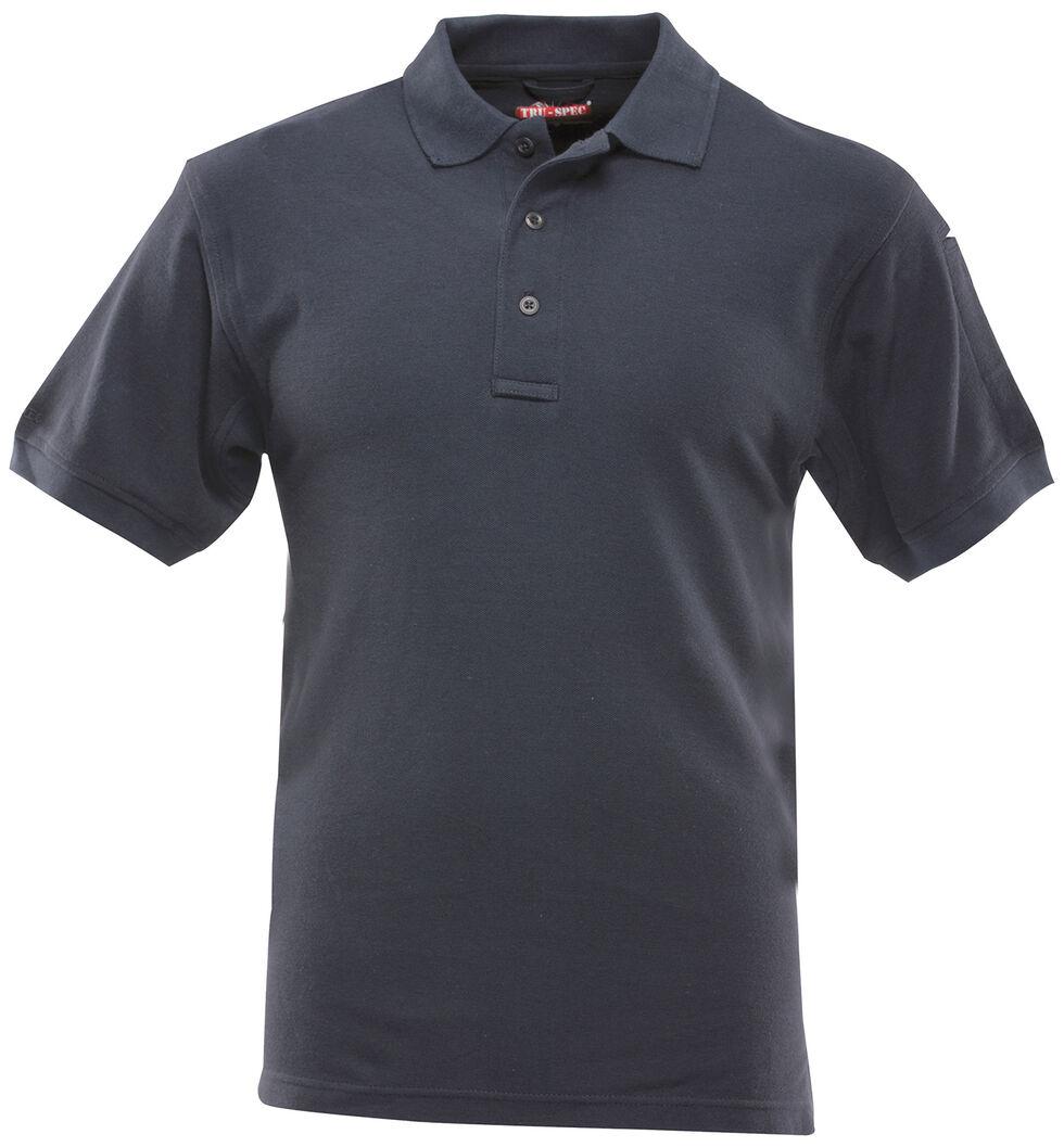 Tru-Spec Men's 24-7 Series Classic Cotton Polo Shirt, Navy, hi-res