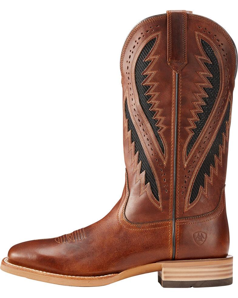 9e16824e689 Ariat Men's Brown Quickdraw VentTEK Vintage Boots - Square Toe