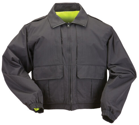 5.11 Tactical Double Duty Jacket - 3XL and 4XL, Black, hi-res