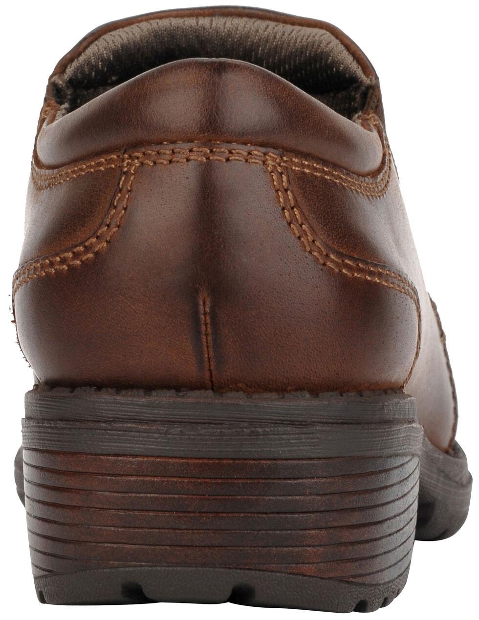 Eastland Women's Brown Double Down Slip-Ons , , hi-res