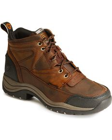 Ariat Women's Terrain H2O Waterproof Boots, Copper, hi-res