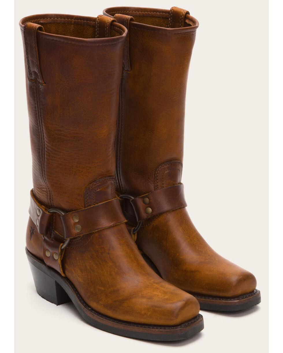 Frye Women's Harness 12R Boots - Square Toe, Cognac, hi-res