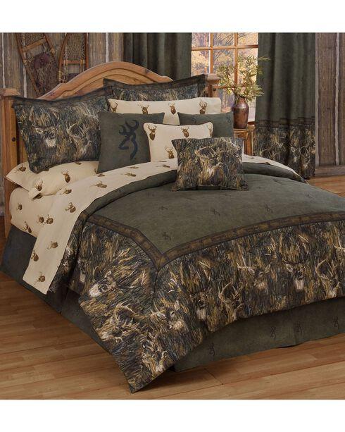 Browning Whitetails Twin Comforter Set, Multi, hi-res