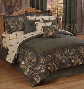 Browning Whitetails Queen Comforter Set, Multi, hi-res