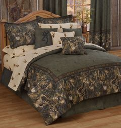 Browning Whitetails California King Comforter Set, Multi, hi-res