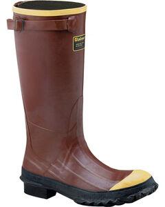 "Lacrosse Men's PAC 16"" Steel Toe Work Boots - Round Toe , Rust Copper, hi-res"
