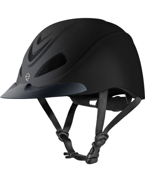 Troxel Liberty Schooling Helmet, Black, hi-res