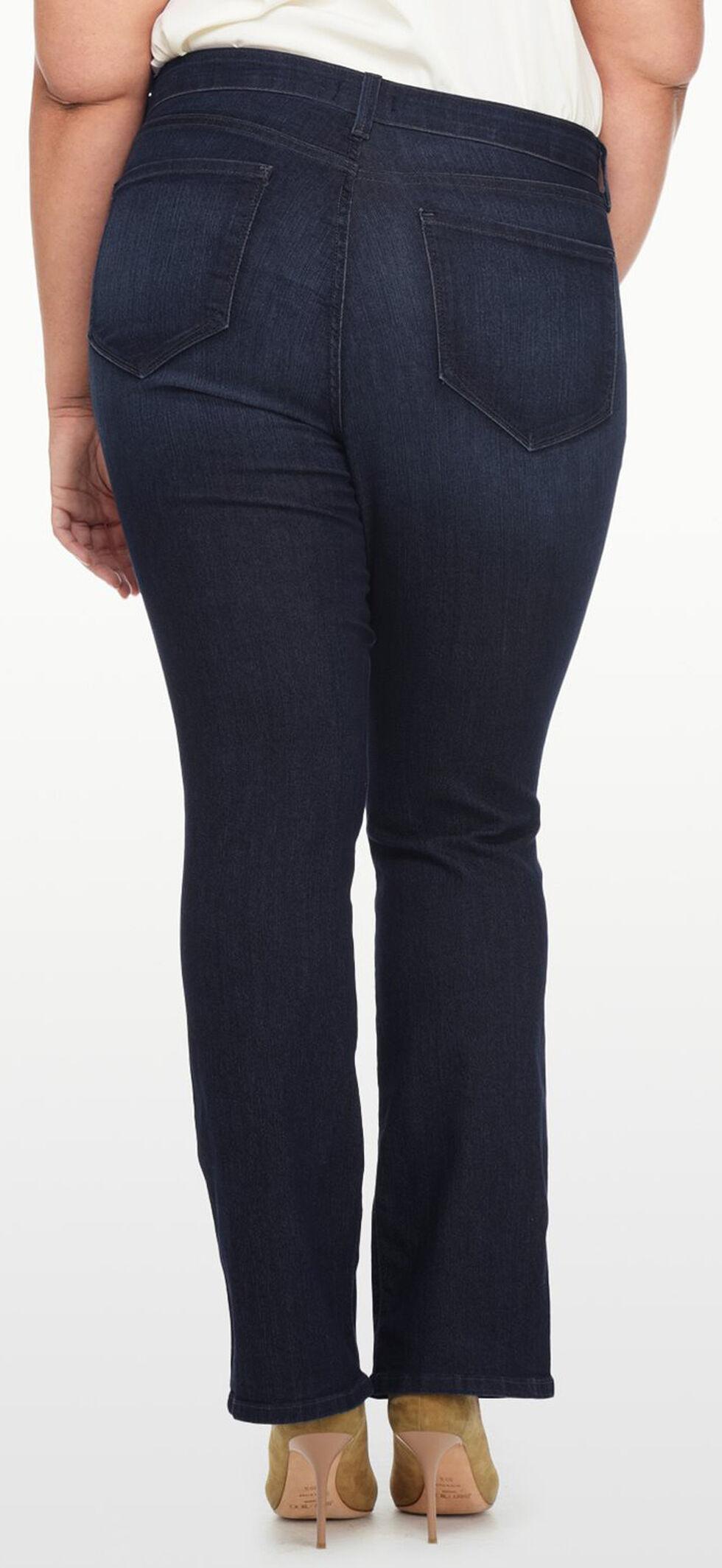 NYDJ Women's Billie Mini Bootcut Premium Denim Jeans - Plus, Indigo, hi-res