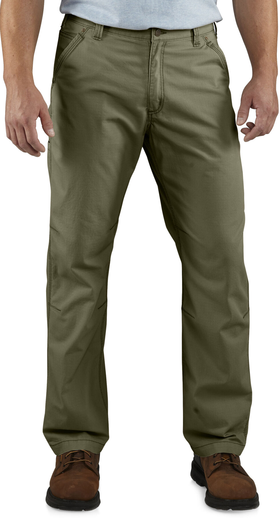 Carhartt Tacoma Ripstop Work Pants, Green, hi-res