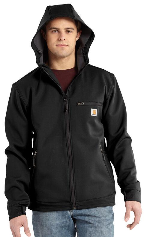 Carhartt Crowley Hooded Jacket, Black, hi-res