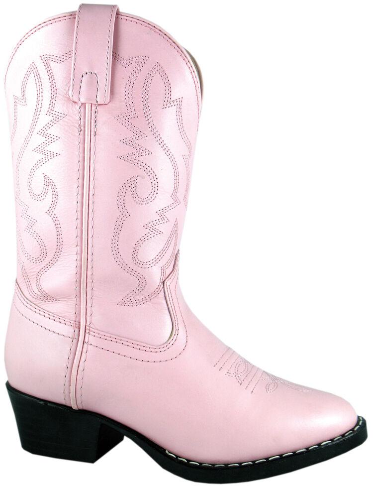 Smoky Mountain Toddler Girls' Denver Western Boots - Round Toe, Pink, hi-res