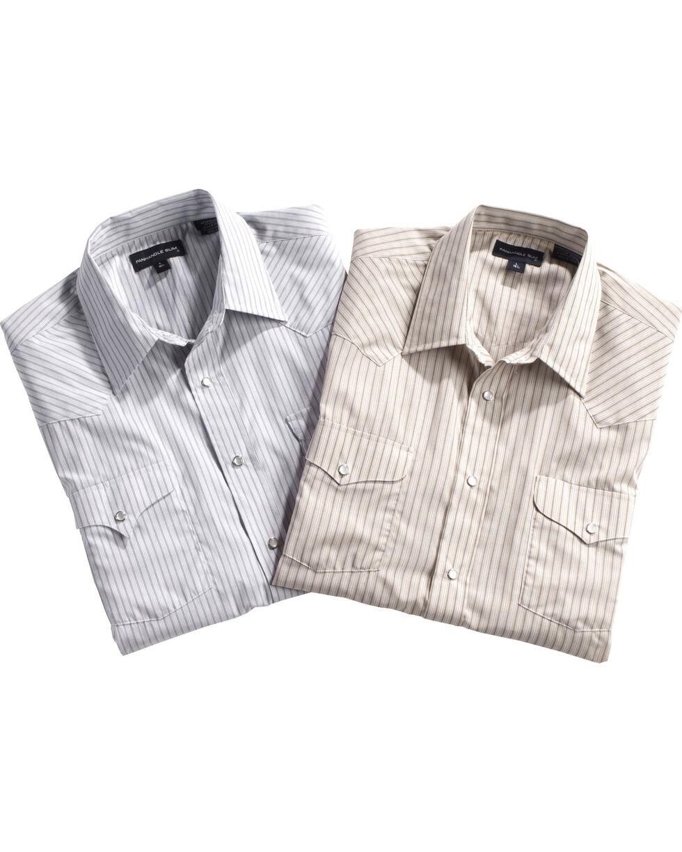 Panhandle Men's Short Sleeve Assorted Western Shirt - Big , Multi, hi-res
