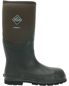 Muck Boots Chore Cool Hi Work Boots - Steel Toe, Brown, hi-res
