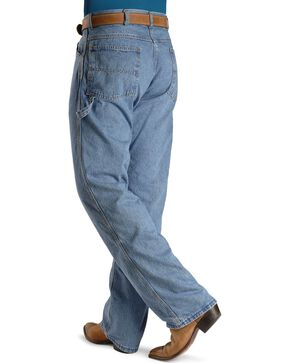 U.S.A. Made Round House Jeans - Dungaree Relaxed Fit, Stonewash, hi-res